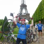 Supporter stories - Elizabeth's Legacy of Hope - Amputee charity - Charlie Hunt - London to Paris cycling