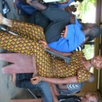 One of our beneficiaries from Makeni, who has now been given a new, lighter limb