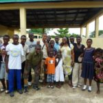 A group shot of our beneficiaries in Bo, who will be supported with limbs and education