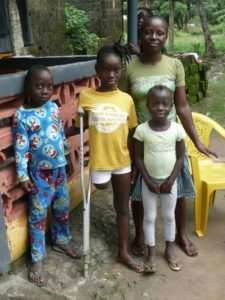 Elizabeth's Legacy of Hope, charity, amputees, country profiles, india, sierra leone, liberia, disability