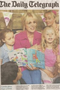 School Fundraising - Elizabeth's Legacy of Hope - Amputee charity - Joanna Lumley