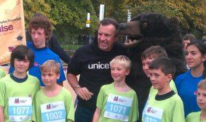 Duncan Bannatyne with the boys