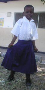 Elizabeth, age 8