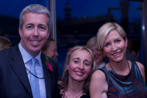 Sarah and Kevin with Heather Mills at ELofH's launch in May 2011