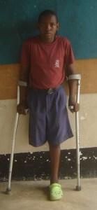 Salimu, age 12
