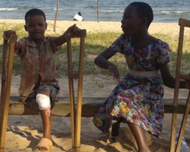Boy, 6, and girl, 10, who were hit by speeding trucks in Mwanza