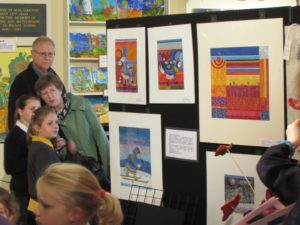 School Fundraising - Elizabeth's Legacy of Hope - Amputee charity -St Hilda's Art Sale Fundraiser
