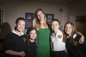 Supporter stories - Elizabeth's Legacy of Hope - St Hilda's School art event