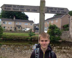 Henry Moody 200 miles - half way