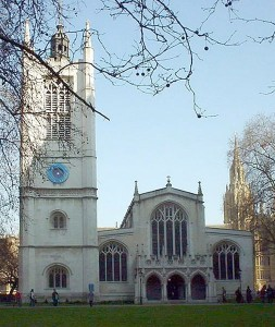 St Margaret's Westminster Abbey