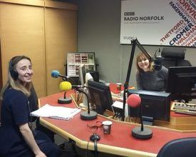 Vee on BBC Radion Norfolk 18-11-2015