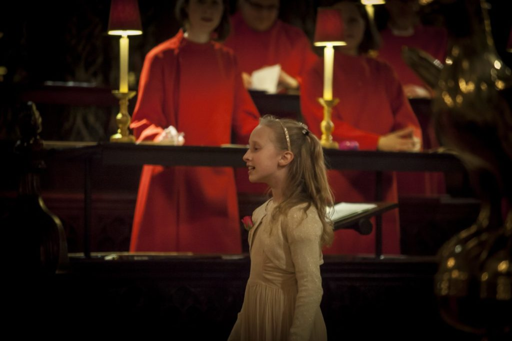 Pollyanna Hope sings Once in Royal David's City