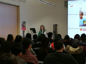 ELoH's Chair speaks at University of East Anglia