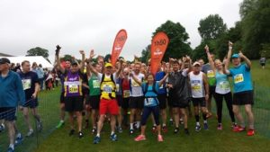 St Albans Half Marathon - Elizabeth's Legacy of Hope - helping child amputees walk