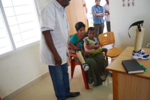 Elizabeth's Legacy of Hope - Valentine amputee India - helping child amputees walk