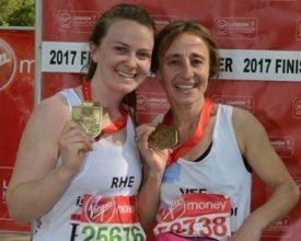 London Marathon, 2017, amputees, ELoH, fundraising, charity, Victoria Bacon