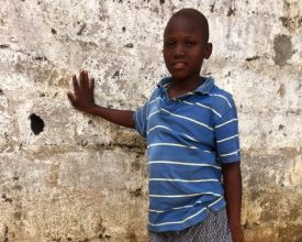 Jacob - Elizabeth's Legacy of Hope - child amputees, Liberia http://elizabethslegacyofhope.org/