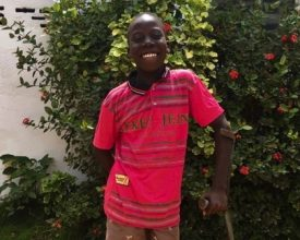 Jerome - Elizabeth's Legacy of Hope, child amputee, Liberia