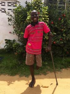 Jerome - Elizabeths' Legacy of Hope - child amputees, Liberia