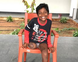 Kareem, ELoH, Elizabeth's Legacy of Hope, amputees, disability, prosthetic, charity, india, andhra pradesh, children, happy