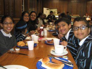 Quainton Hall School, charity breakfast, Elizabeth's Legacy of Hope, child amputees