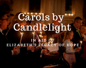 Carol Concert, St Bride's Church Fleet Street, Elizabeth's Legacy of Hope, child amputees