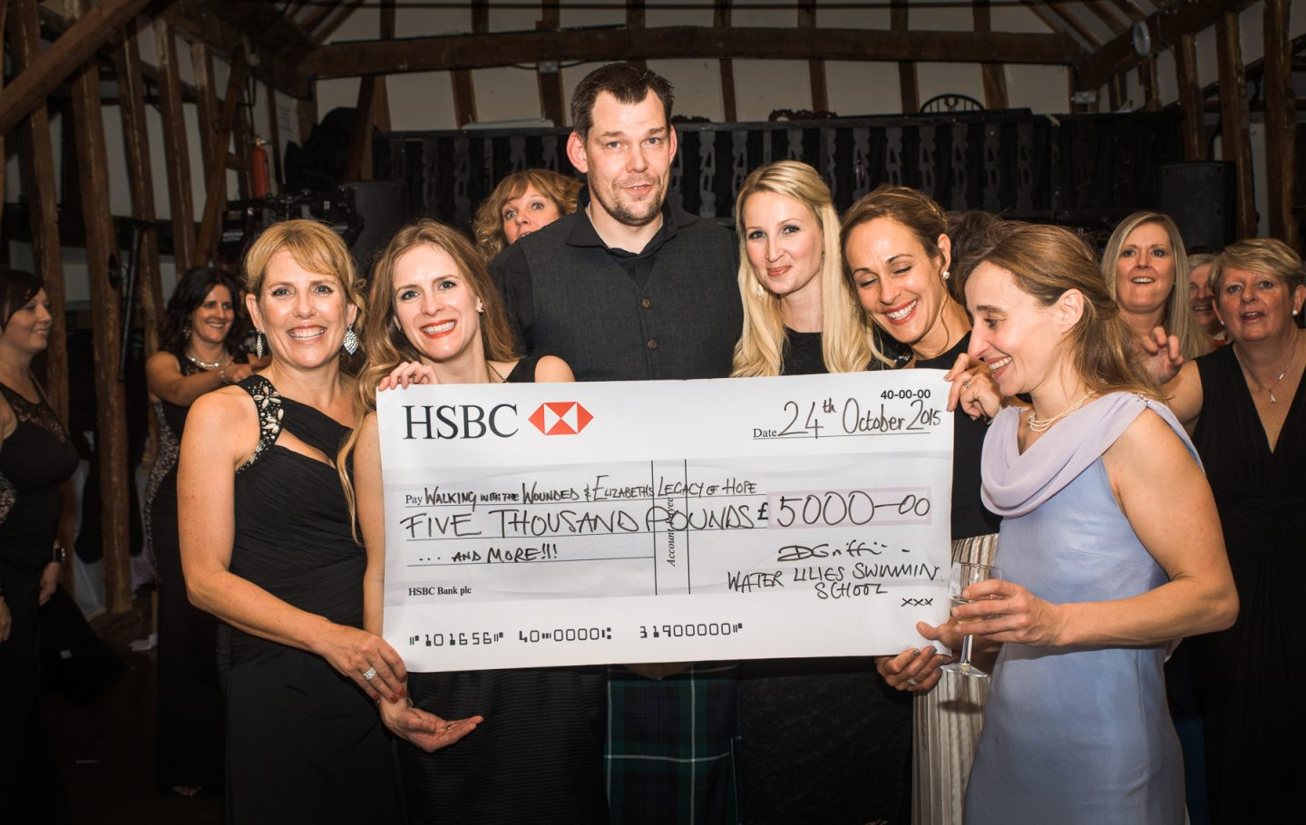 Water Lilies' Charity Ball raises £2,500 for ELoH